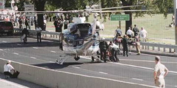 Evacuating wounded from Pentagon, Sept 11 2001